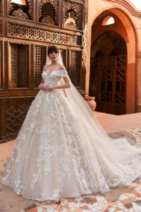 fancy wedding dresses with stones