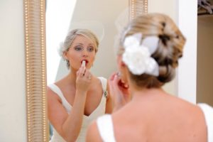 preparations for wedding for bride