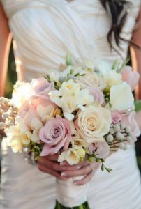 how to make a cascade bridal bouquet with silk flowers