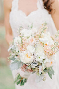 how to make a cascading bridal bouquet with silk flowers