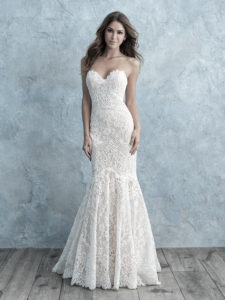 Best Womens Formal Strapless Sweetheart Mermaid Wedding Dress
