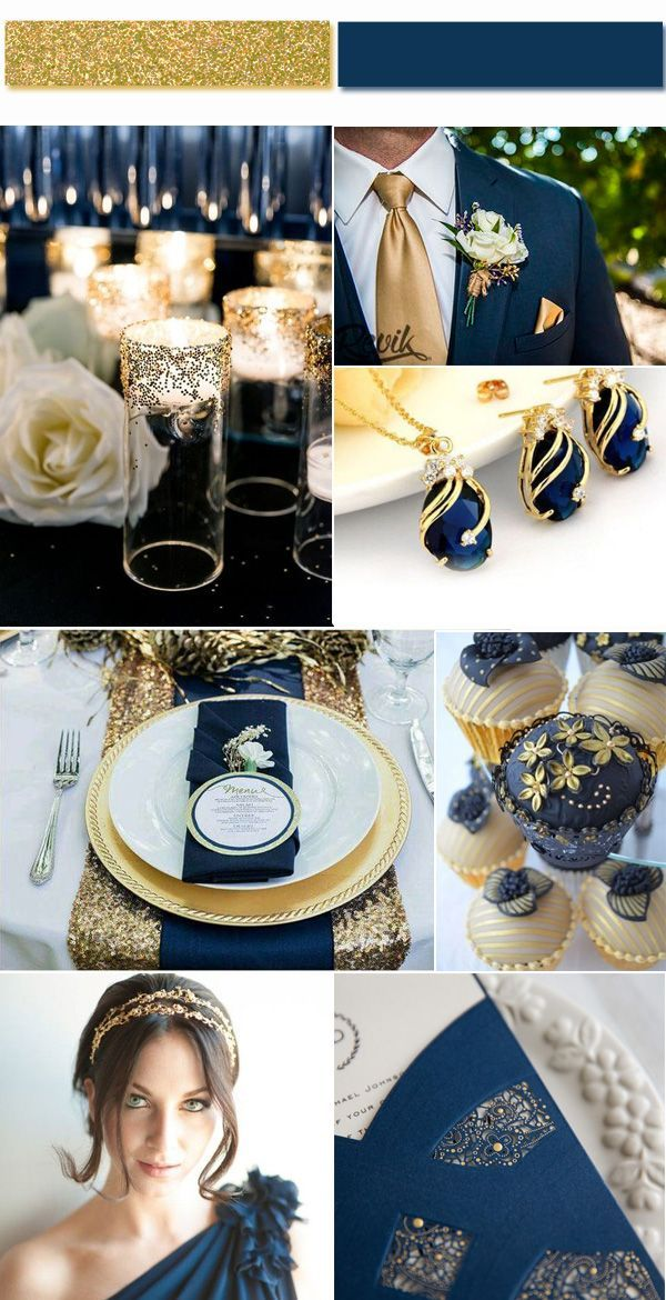 Best wedding colors, 45 ideas
