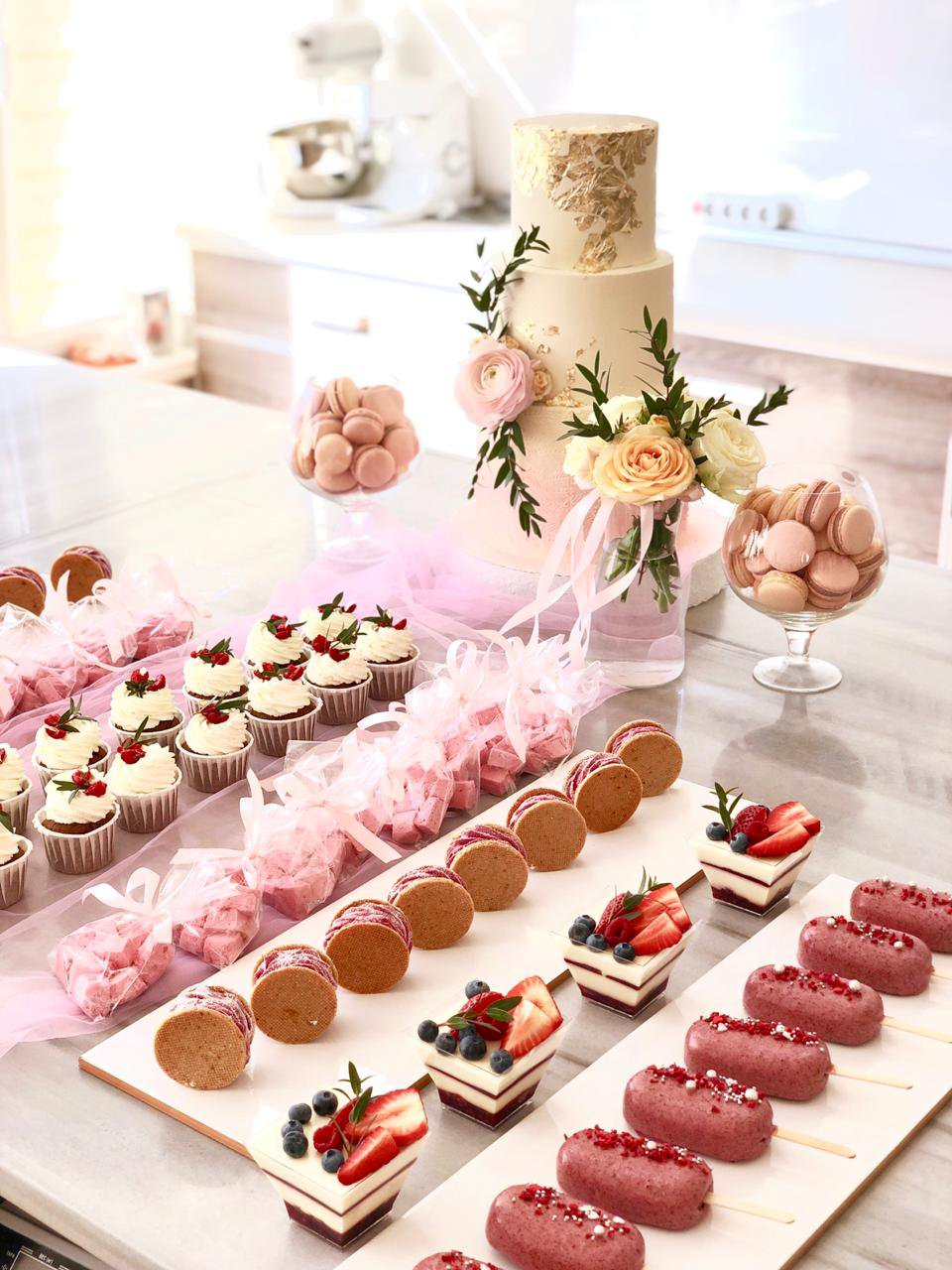 How to arrange a sweet table?