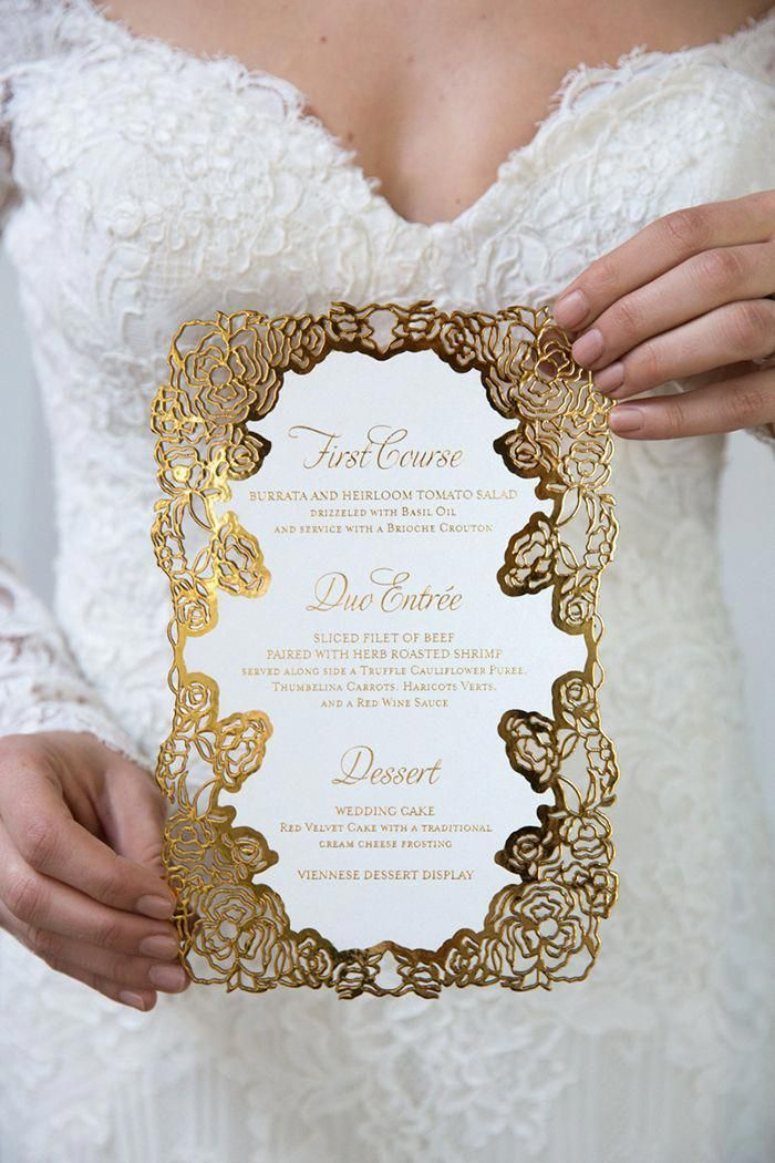 Photos of wedding invitations