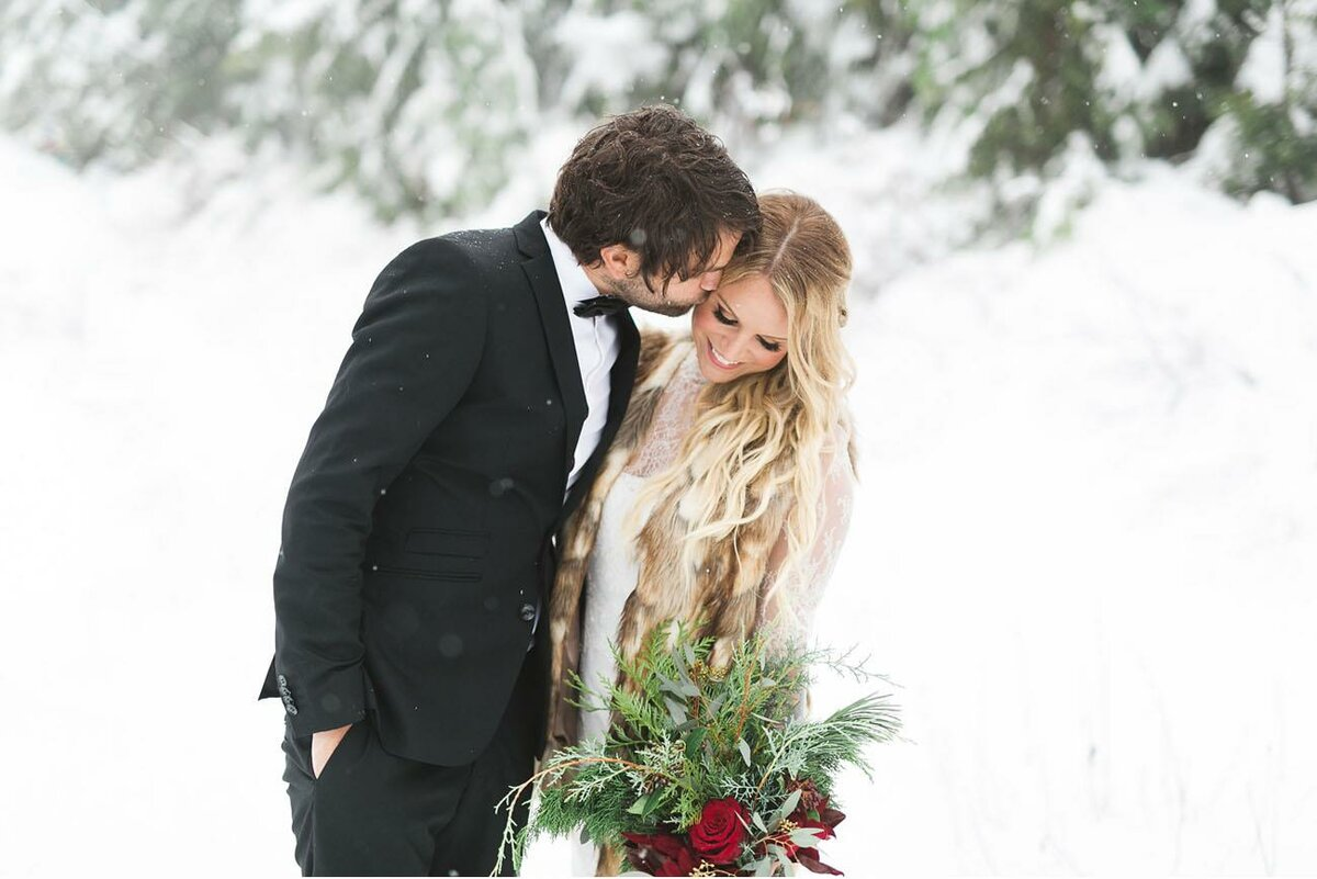 What to wear for the groom in winter