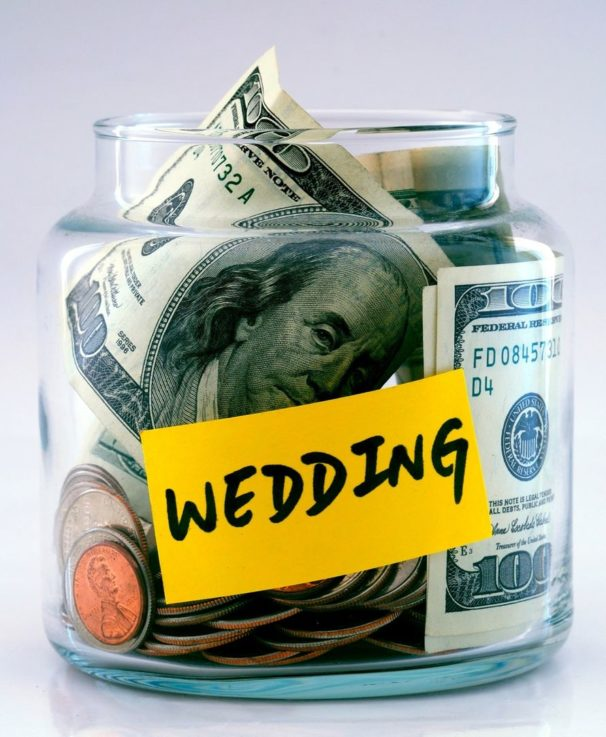 Wedding budget principles of competent planning