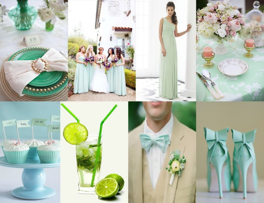 The most fashionable wedding colors 2021